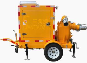 二轮移动强自吸泵车