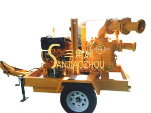 二轮真空辅助移动泵车
